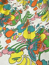Peter Max Pair Of Curtains Vintage Drapes