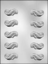 3D Seahorse Chocolate Candy Mold from CK 12845 - NEW