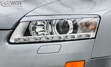 RDX Scheinwerferblenden AUDI A6 4F C6 2008-2011 Böser Blick Blenden Spoiler