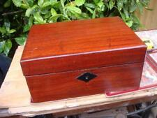 Wooden Writing  Slope  Box  /  Writing Case For Restoration Or Repair