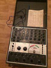 B&K BK 700 Dynamic Mutual Conductance Tube Tester Ham Radio Rare Powers Up W@W