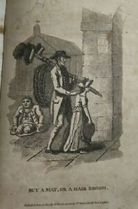 1806 THE CRIES OF LONDON AS DAILY EXHIBITED IN THE STREETS WITH VERSES 48 PLTS *