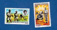 Alto Volta 1971 piantagioni agriculture agricoltura raccolto cibo food MNH**og