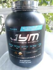 JYM Science Mass Gainer APPLE FRITTER Flavor- 5 lbs SEALED Exp 4/2020 FREE SHIP!