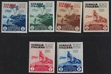 ITALY SOMALIA 1930s AIRMAIL & SEMI POSTALS Sc C1 C6 B38 B37 B11 B16 B17 B20 HING