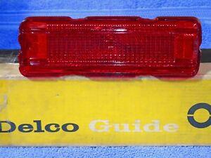 1967 Buick Skylark Gransport GS Delco Guide Tail Lamp Lens NOS