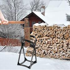 More details for vevor q235 steel durable wood splitter log firewood kindling for campsite home