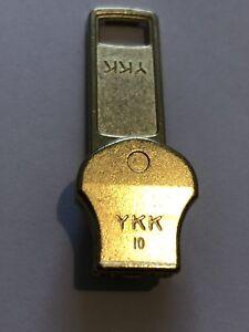No-10,YKK, GOLD BRASS ZIP SLIDER/RUNNER/PULLER AUTO LOCK FOR METAL TEETH ZIP