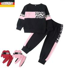 Kinder Outfits Mädchen Jungs Fitnessanzug Sportanzug Sweater Jogginghose Set