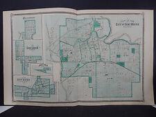 Indiana Maps, 1876 City of Fort Wayne N2#02
