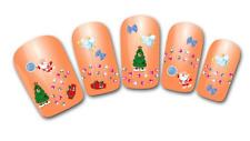 Nailart stickers autocollants ongles scrapbooking décorations cadeaux sapins