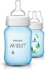 Philips Avent SCF684 27 Classic Feeding Bottle Bottles Blue 260ml
