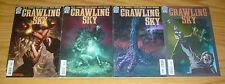 Crawling Sky #1-4 VF/NM complete series - joe r. lansdale - western horror set