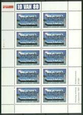 NVPH V1733 velletje 10 van 80 Jongeren 1997 postfris