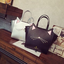 New Cute Women  Fashion Handbag Cute Cat Classic Shoulder Bag Messenger