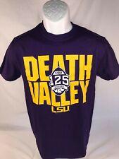 "LSU Bayou Apparel ""Death Valley"" 125 Seasons SS Tee Shirt  Size:   Medium"