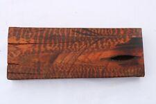Snakewood Bowl Cue Pen Knife Call Exotic Tone Wood Turning Blank 1.2 x 3 x 9¨
