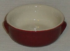 "United Airlines Bowl Dish Hall China Restaurant Diner Ware Burgundy 5"" Vtg"