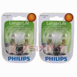 2 pc Philips Parking Light Bulbs for Isuzu Amigo I-Mark Impulse Pickup Rodeo rg