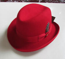 Hombrug Hat Fedora 100% WOOL Godfather Hat Unsex Men's/Woman's 3 colors