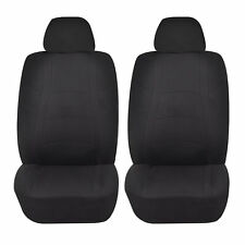 BLACK RACER AIRBAG COMPATIBLE FRONT LOWBACK SEAT COVER for SATURN ION RELAY VUE
