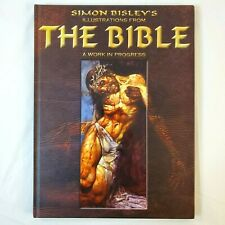 Simon Bisley's Illustrations from the Bible Heavy Metal Hardcover Autographed