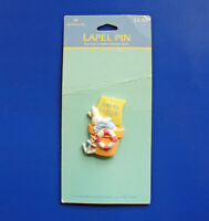 Hallmark PIN Easter Vintage BUNNY RABBIT SAILOR Boy BOAT PLANTER Holiday NEW*