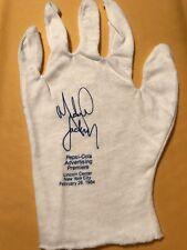 Vintage Pepsi Cola Advertising Premiere White Glove w/ Michael Jackson Etching