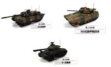 Lot de 3 véhicules militaires Japonais 1/72 - char tank DeAgostini JGSDF