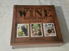 How To Host A Wine Tasting Party The Complete Kit by Dan Amatuzzi New Sealed