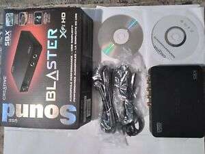 SOUND BLASTER SBX FI-HD EXTERNAL SOUND CARD