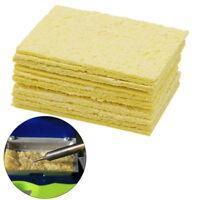 dauerhafte reinigen lötkolben reinigung schwamm elektrisches schweißen gelb