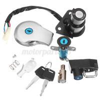 Switch Ignition Lock Fuel Gas Cap Tank Key Set For Yamaha Virago XV125 XV250 AU