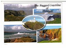 Postcard: Multiview - The Rugged Coastline of Donegal, Ireland