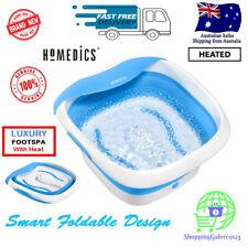 NEW Homedics Foldaway Luxury Footspa Soothing Massage with Heat Foldable Design