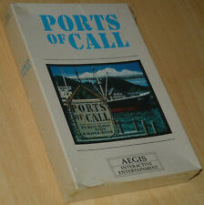 ~ PORTS OF CALL ~ Commodore Amiga ~ OVP/BOXED ~ NEU/SEALED COLLECTIBLE ~ english