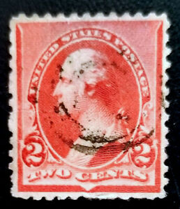 Scott #220 1890 US 2 Cent George Washington