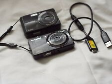Samsung ST45  + Samsung ES63 Compact Digital Cameras Both 12.2 MP  (2 Cameras)