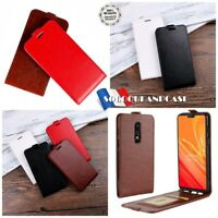 Etui coque Housse Flip Cuir Pu Premium Leather case Cover skin pour OnePlus 6