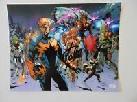 """""""Marvel"""" Stan Lee Hand Signed 10X8 Color Animation Photo PAAS COA"""