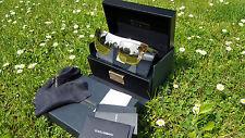 DOLCE & GABBANA Limited edition sold out DG 2114K plaqué or miroir Lunettes de soleil
