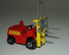 Matchbox Superfast No.15 Fork Lift Truck Diecast Model. 1972 Unboxed