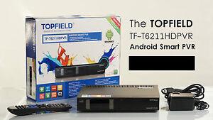 Topfield TF-T6211 Android smart PVR - 500GB