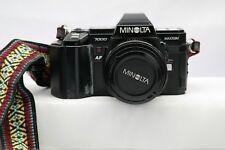 Minolta Maxxum 7000 SLR Camera w/ Zoom Lens / AK