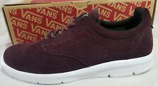 Vans Iso 1.5 Suede Iron Burgundy True White Ultra Cush Skate Shoe Women Size 6