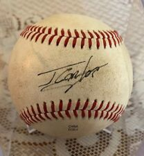 Signed Baseball by Jorge Soler Signed as Jorge Carlos
