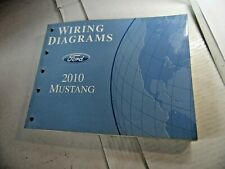 fcs-12121-1 2010 ford mustang wiring diagrams service manual