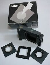 Sinar M Camera for Hasselblad V CFV Digital Back Nikon F Zeiss CONTAX Lens