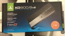 JL AUDIO XD800/8V2 AMPLIIER 8-CHANNEL 800 WATTS RMS 75W X 8 RMS FREE SHIPPING