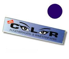 Comair Wimpernfarbe Augenbrauenfarbe BLAU SCHWARZ 15ml m.Stäbchen Wimpernfärbung